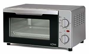 Solac HO6011 - Horno (Independiente, Acero inoxidable, 0 - 230 °C, 230 - 240 V, 270 x 225 x 155 mm)