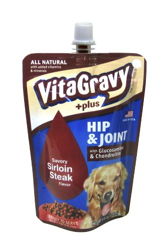HealthPro VitaGravy Hip and Joint Steak Flavor 8oz, My Pet Supplies