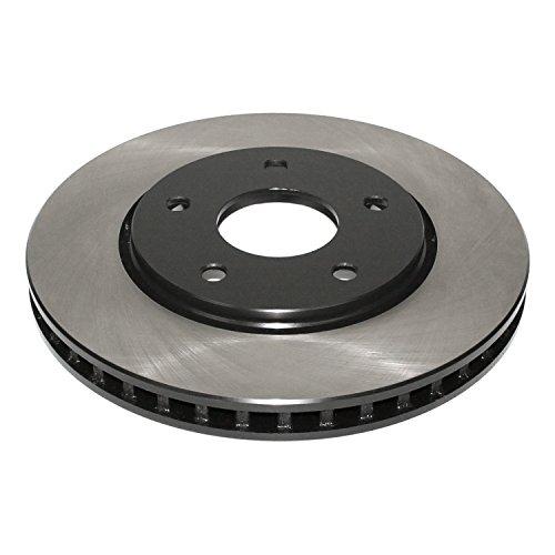 DuraGo BR90052402 Front Vented Disc Premium Electrophoretic Brake (Chrysler Brake Disc)