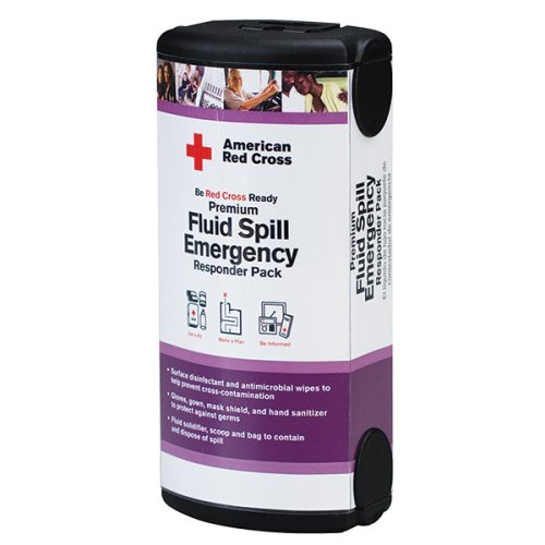 First Aid Only RC657 American Red Cross Fluid Spill Kit