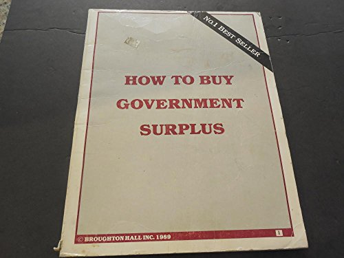 How To Buy Government Surplus, Broughton Hall 1989