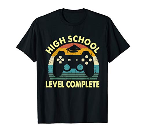 2019 High School Graduation Shirt Gamer Graduation Gifts