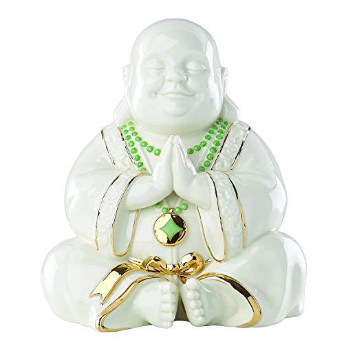 - Lenox Exclusive Happy Praying Buddha Statue Figurine