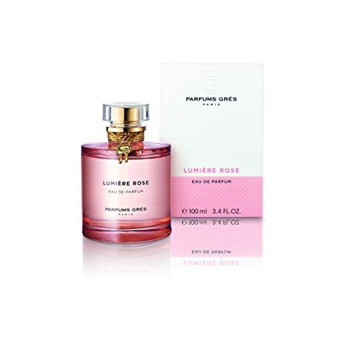 Parfums Gres Eau De Parfum Spray, Lumiere Rose, 3.4 ()