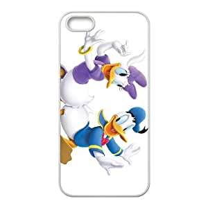 House of Mouse Character April Duck iPhone 5 5s Cell Phone Case White Ahbhi