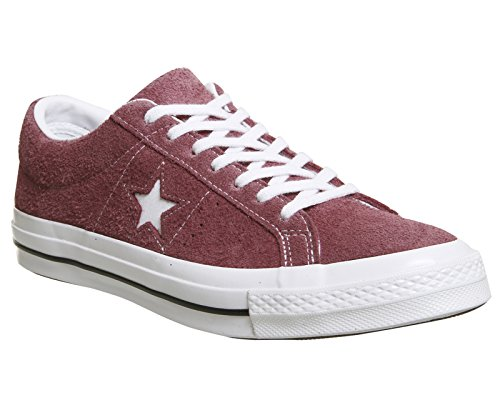 Converse One Star OX Herren Sneaker Dunkel Rot Deep Bordeaux