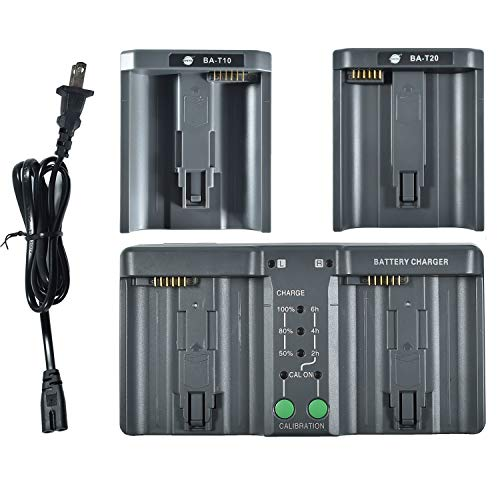 DSTE Replacement for MH26A 3-in-one Power Battery Charger Compatible Nikon EN-EL18 EN-EL4 Compatible Canon LP-E4 LP-E4N LP-E19 Battery as MH-26 (Lp E4 Replacement)