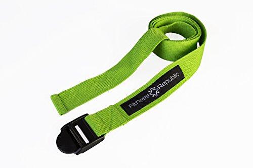 Fitness Republic Yoga Strap Green