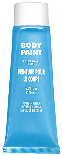 Light Blue Body Paint -