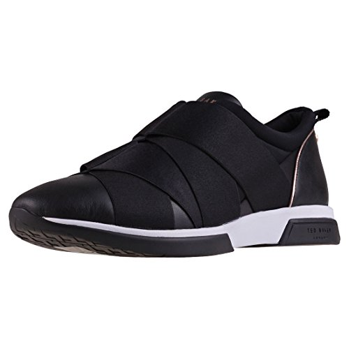 Ted Lace Up Sneakers (Ted Baker Queane Womens Trainers Black - 7 UK)