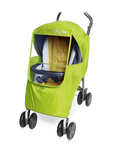 Manito Elegance Plus Stroller Weather Shield/Rain Cover, Green by Manito