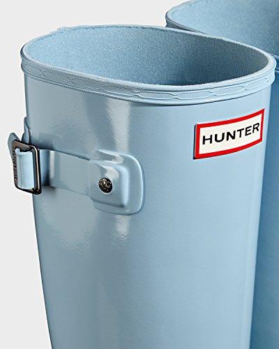 Hunter Womens Original Refined Gloss Rain Boots Fountain Blue YokH3kawHA