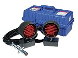 LED Towing Lights with 4-way Round Connector