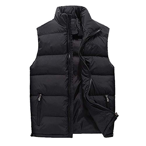 Men Trend Black Down Vest Winter and Handsome Casual Autumn Korean wqxHq1