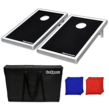 GoSports CornHole Bean Bag Toss Game Set - Superior Aluminum Frame