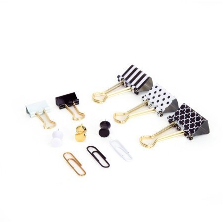 U Brands Binder clips and Push Pins