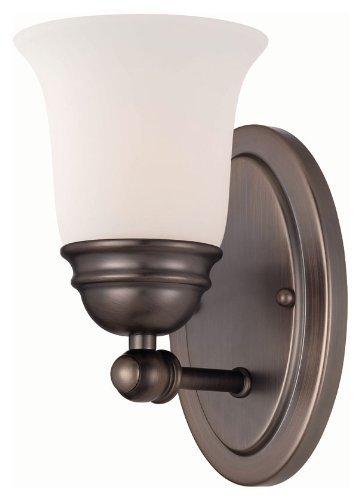 Elk Lighting TN0003715 Bella 1-Light Lamp in Oiled Bronze Vanity Wall Sconce, ()