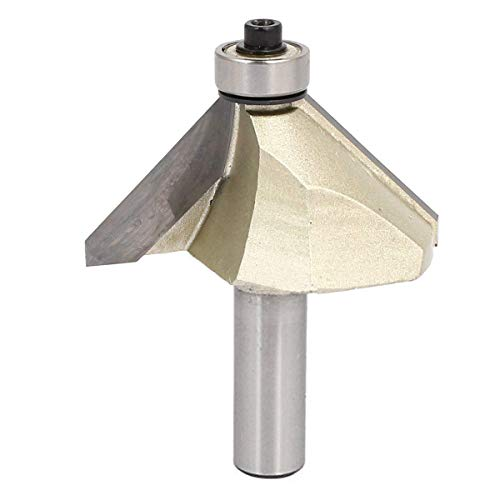 COMOK 45 Degree Chamfer Router Bits with 1/2