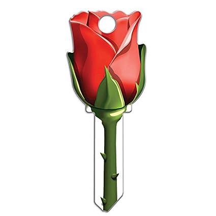 Lucky Line Key Shapes Rose House Key Blank Kw 11 1 Key B107k