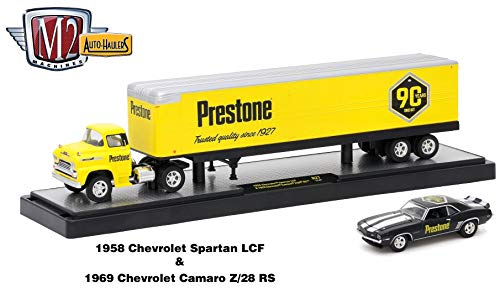 M2 Machines 1958 Chevrolet Spartan LCF (Yellow w/Black for sale  Delivered anywhere in USA
