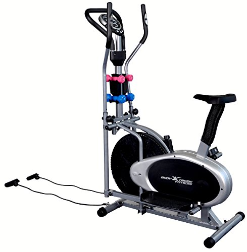 Body xtreme fitness in elliptical trainer exercise