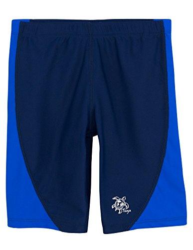 Tuga Boys Jammer Swim Short (UPF 50+), Royal/Navy, 11/12 yrs - Jammer Shorts