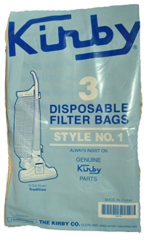 Kirby Upright Vacuum Cleaner Bags - 3cb Bag
