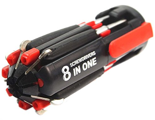 Gadget 8 in 1 Multi Screwdriver with LED Portable Torch