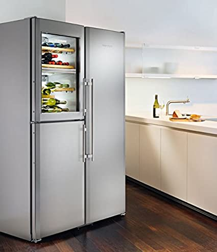 Amerikanische kühlschränke liebherr  Liebherr Sbses 7165 Side-by-Side/Kühlteil 483 L/Gefrierteil 119 L ...