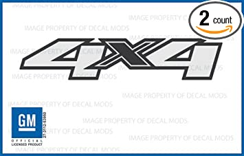 Amazoncom Chevy Silverado X Decals Stickers F - Chevy silverado sticker