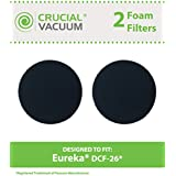 2 DCF-26 Style Filter for Eureka AirSpeed ONE, AirSpeed Zuum, & PowerGlide Vacuums; Compare to Eureka Part Nos. 090190 & 68465; Designed & Engineered by Think Crucial