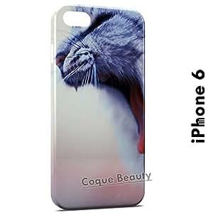 Carcasa Funda iPhone 6 Cute Little Cat Protectora Case Cover