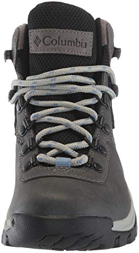 Columbia Women's Newton Ridge Plus Hiking Boot, Quarry/Cool Wave, 5.5 Wide US by Columbia (Image #4)