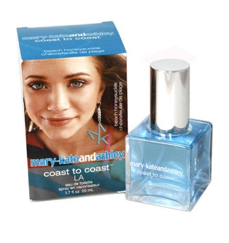 - Mary-Kate & Ashley Coast La Beach Honeysuckle Eau de Toilette Spray, 1.7 Fluid Ounce