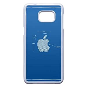 App Tormenta de Apple Mac Esquema Azul 8066 Samsung Galaxy Note 5 Edge caja del teléfono celular funda blanca del teléfono celular Funda Cubierta EEECBCAAH71800