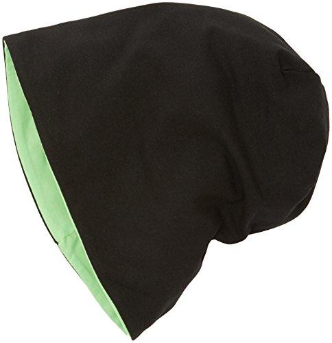 Mehrfarbig 3897 Adulto Gorro 10377 Jersey neongreen Beanie black Unisex Reversible Punto de MSTRDS qO780