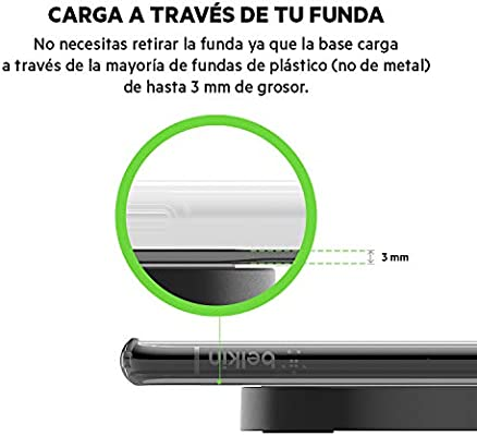 Belkin Boost Up Bold - Cargador inalámbrico (para iPhone 11 ...