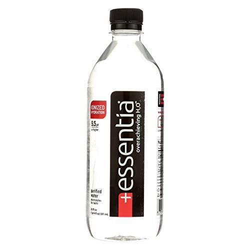 Essentia 9.5 pH Water 20 Oz Plastic Bottles - Pack of 24