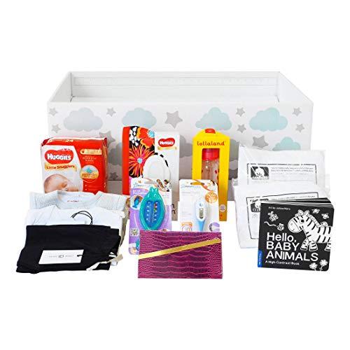 (Finnbin Finnish Baby Box Bassinet: Baby Shower Special | Safe & Portable Sleeper and Starter Kit for Your Newborn Infant Boy or Girl)