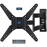 Mounting Dream MD2393-MX TV Wall Mount Bracket for most of 26-55 Inch LED, LCD, OLED and Plasma Flat Screen TV with Full Motion Swivel Articulating Arm up to VESA 400x400mm and 78 lbs