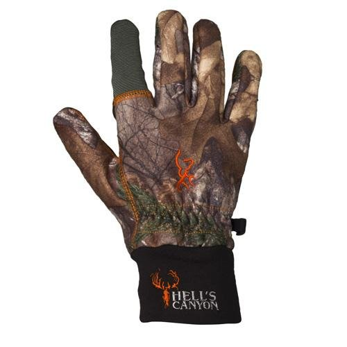 Browning Hell's Canyon Gloves, Mossy Oak Break-Up Country, Large