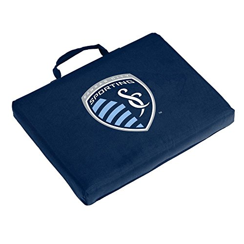 Mlb Logo Seat Cushion - Logo Brands MLS Kansas City Wizards Bleacher Cushion, One Size, Multicolor