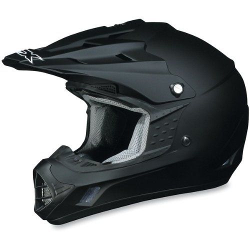- AFX FX-17 Unisex-Adult Off-Road-Helmet-Style Helmet (Flat Black, 4X-Large)