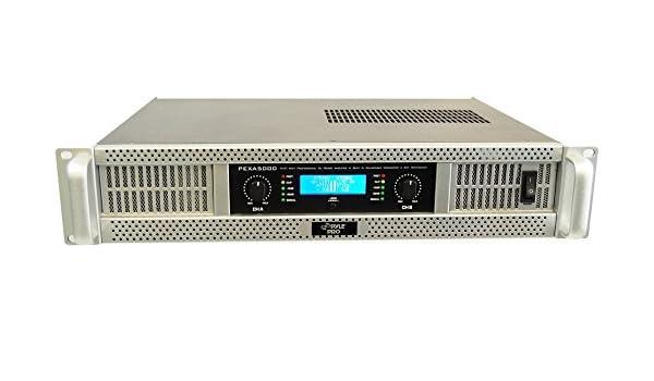 Pyle-Pro PEXA5000 Pro - Amplificador de audio (5000 W): Amazon.es: Instrumentos musicales
