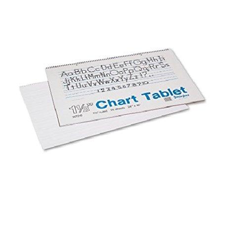 Pacon Ruled Manuscript Chart Tablets - 1 Each ()