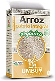 Arroz Cateto Integral Orgânico Umbuy Orgânicos 1KG