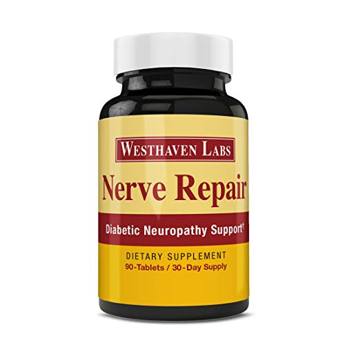 Nerve Repair - Neuropathy Pain Relief for Feet & Hands - Sciatic Nerve Pain Relief - All-Natural Dietary Supplement with Alpha Lipoic Acid - Nerve Renew Neuropathy Support Formula - 30 Day Supply