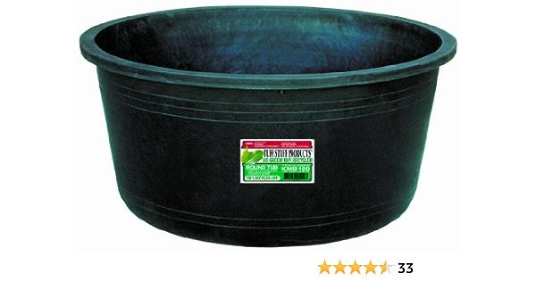 54-Gallon Tuff Stuff Products KMB101 Circular Tub