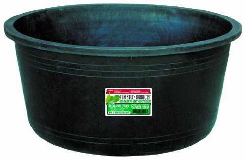 KMB100 Circular Tub, 64-Gallon (Round Feeder Tub)