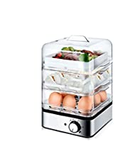 DIAOD 220V 360W Household Electric Multifunctional Egg Cooker for Up To 8 Eggs Boiler Steamer Cooking Tools Kitchen Three Layers